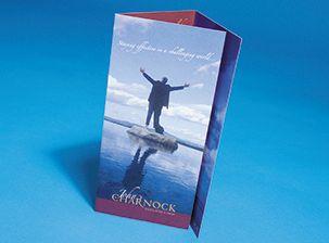 Premium Gloss Folded Leaflet
