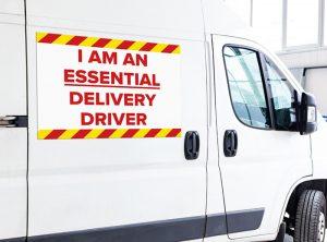 PPE Vehicle Signage